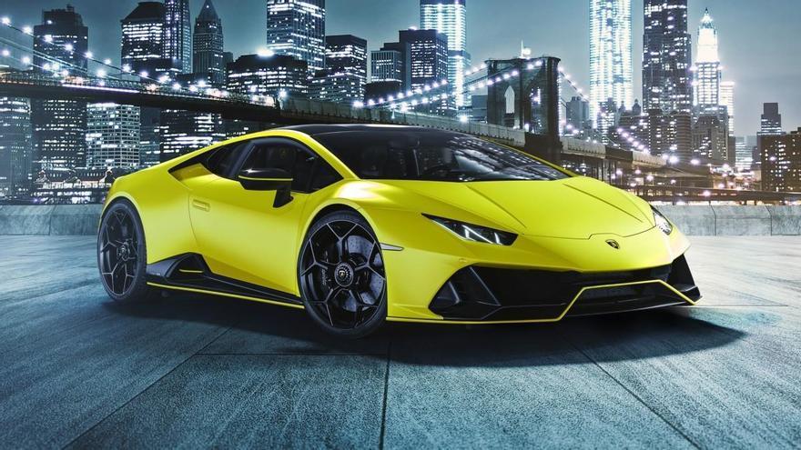 Lamborghini presenta la nueva colección Huracán EVO Fluo Capsule