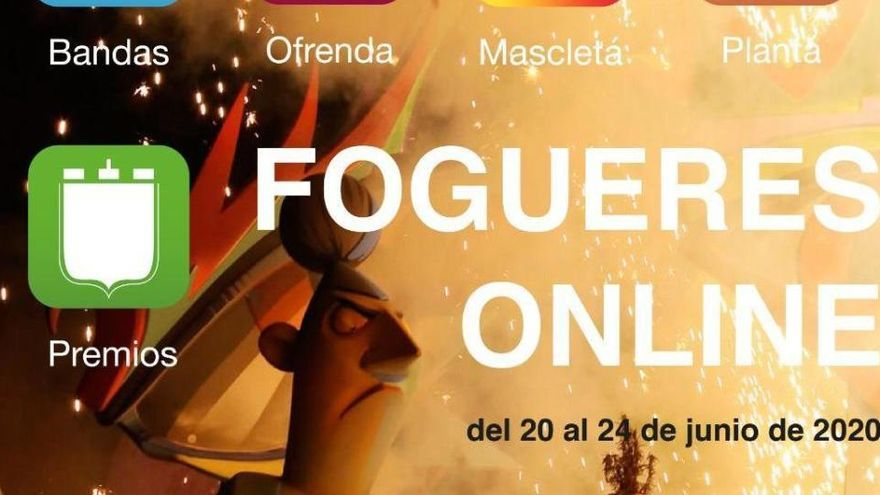 Programa de las Hogueras de San Juan 2020: consulta todos los actos online