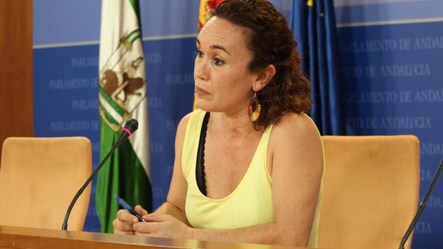 Unidas Podemos denuncia el asfaltado de caminos y vías pecuarias en el entorno del Bejarano