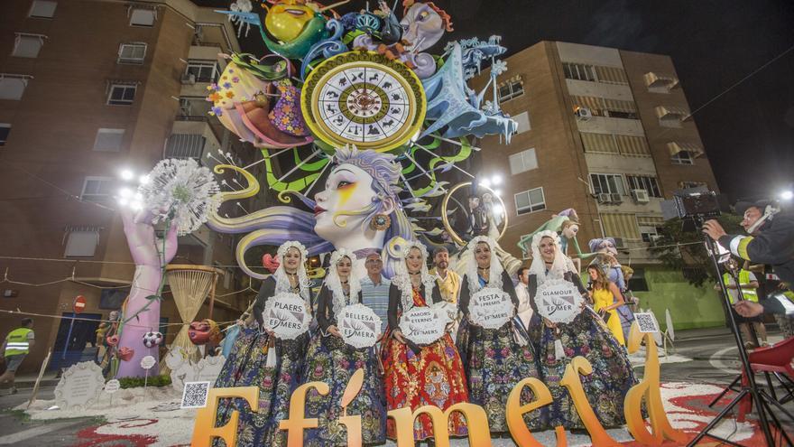 Turisme dota con 40.000 euros a las hogueras Especiales de Alicante