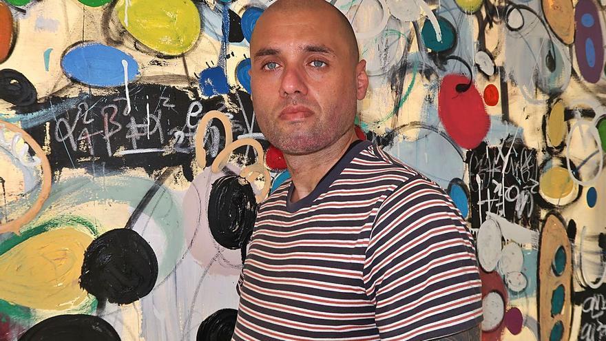 Taher Jaoui, pintor: «El mundo digital cada vez es más importante en el arte»