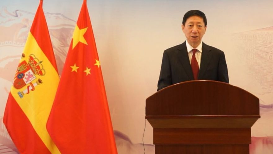 """China destaca sus """"éxitos históricos"""" y elogia su relación con España"""