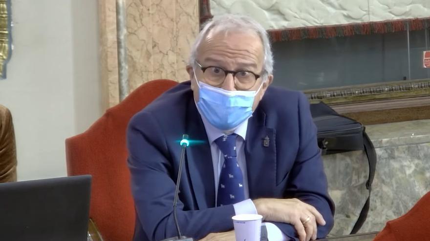 El PP abandona el Pleno tras oír a Mario Gómez llamar a Felipe Coello: 'Doctor vacunas'