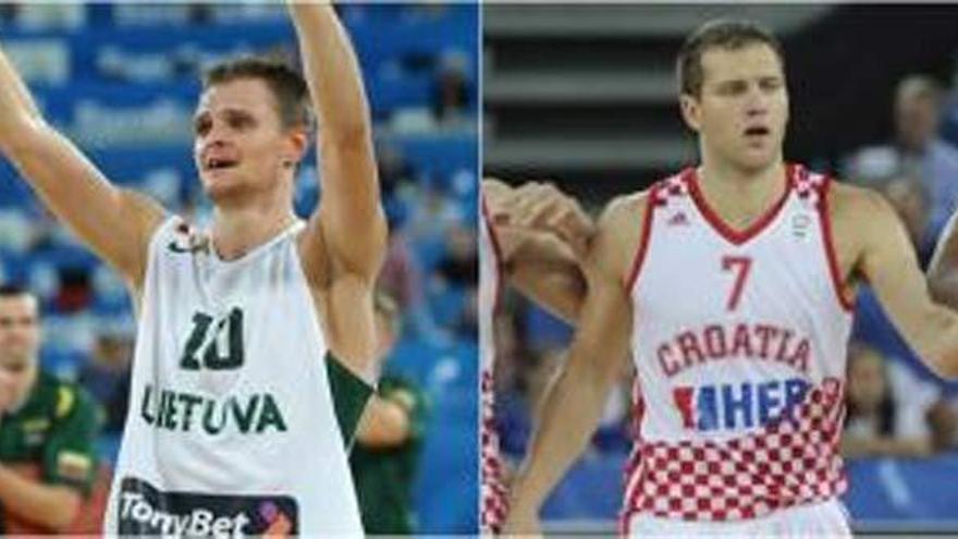Lituania-Croacia, la otra semifinal del Eurobasket