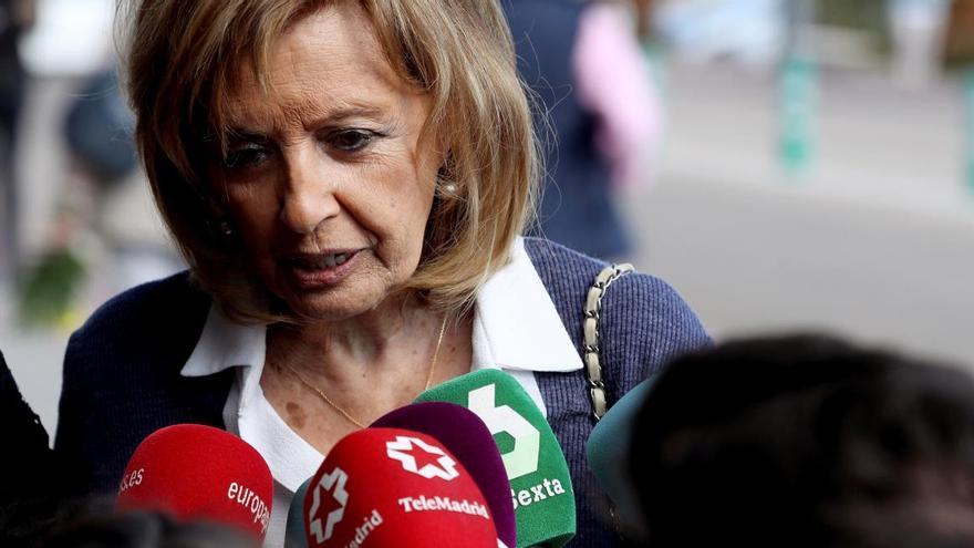La reacción de María Teresa Campos a las advertencias de Antonio David Flores
