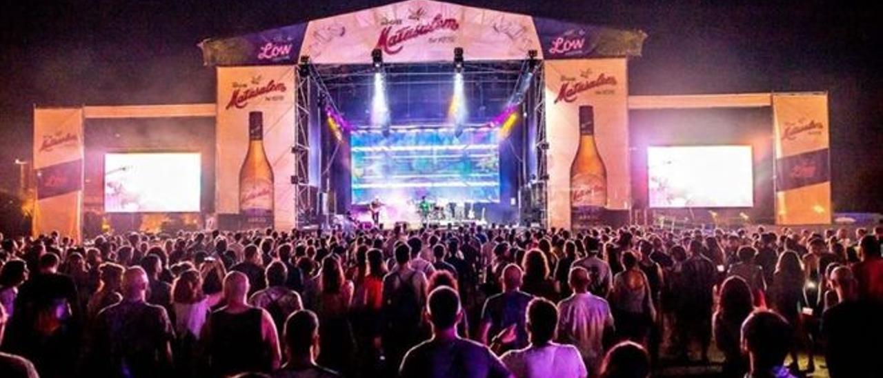 Grandes eventos como el Low Festival de Benidorm llevan dos años sin poder celebrarse debido a la pandemia.
