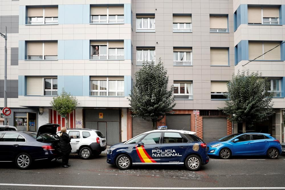 Un hombre mata en Mieres a su yerno, de 41 años, tras una riña familiar