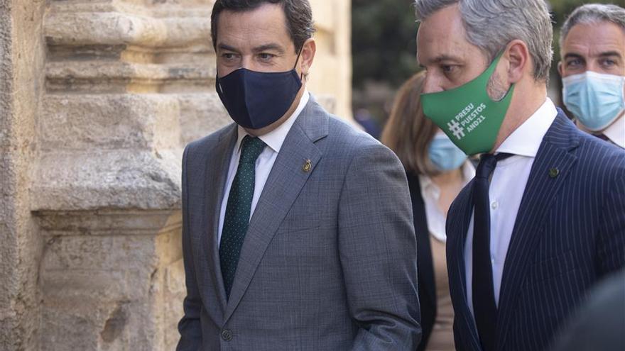 Gobierno andaluz y oposición auguran pocos acuerdos en las cuentas