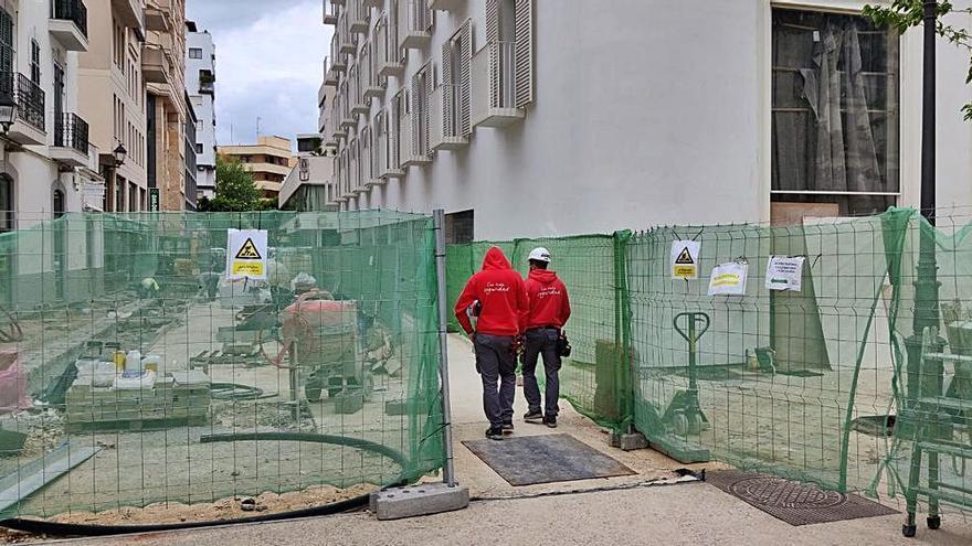 Obras para rematar el nuevo Hotel Vara de Rey 5*