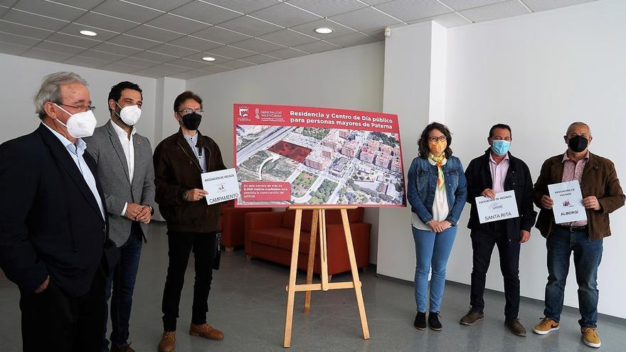 Paterna cede a la Generalitat un solar en Santa Rita para una Residencia de Mayores