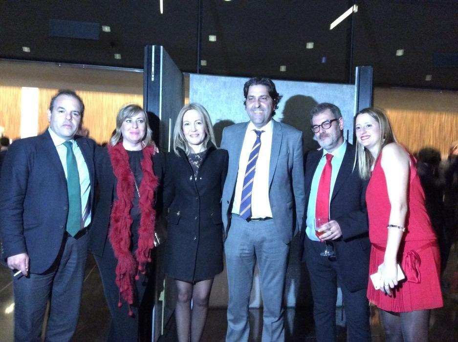 Carlos Baño, Gema Amor, Lidón Parreño, Fernando Sepulcre, Jorge Fauró y Ana Gosálvez