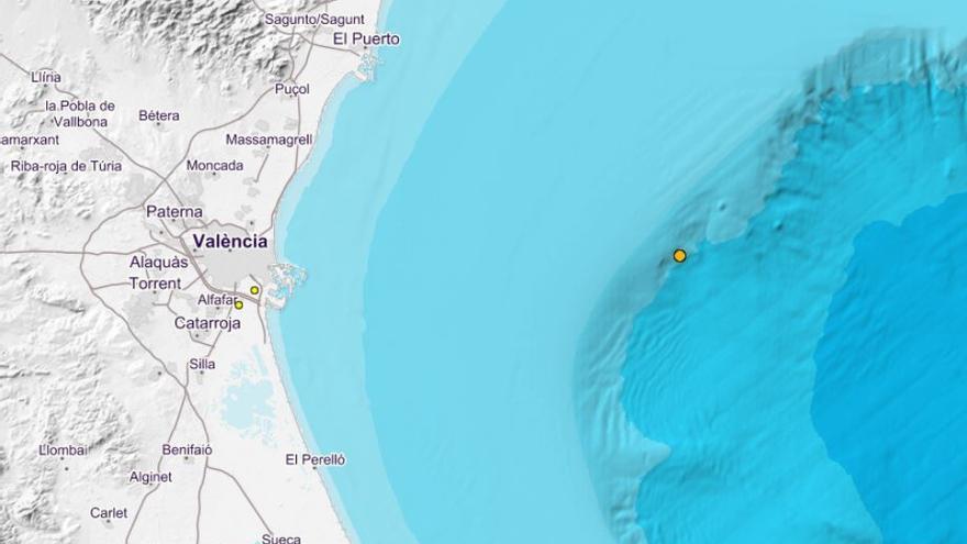 Dos terremotos sacuden de madrugada la provincia de Valencia