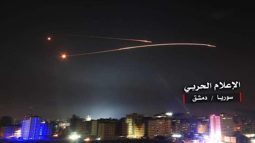 Israel lanza contra posiciones iraníes el mayor ataque a Siria desde la guerra de 1973