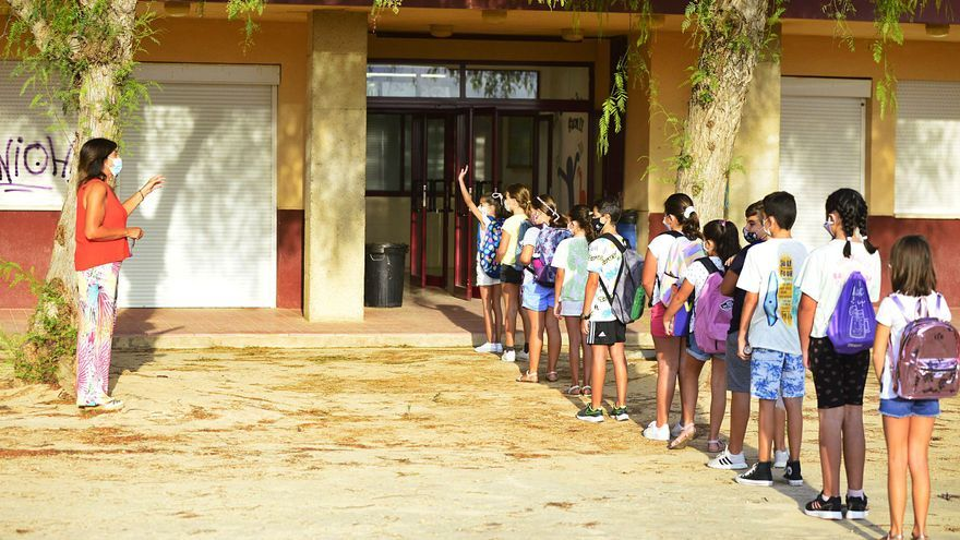 Los alumnos de Primaria regresan hoy a las clases de forma presencial