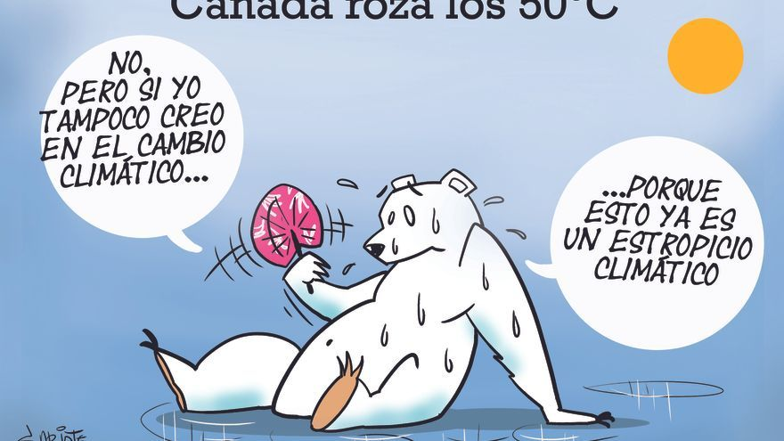 Canadá roza los 50 ºC