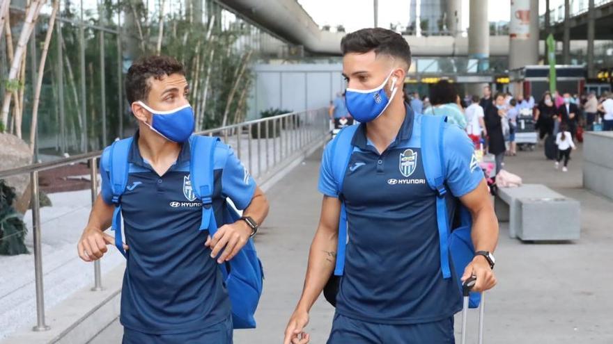 El Atlético Baleares ya está concentrado en Mijas