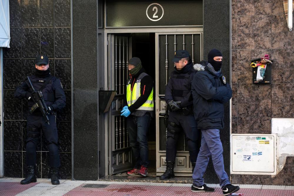 Detencions a Figueres per pertinença a Daesh