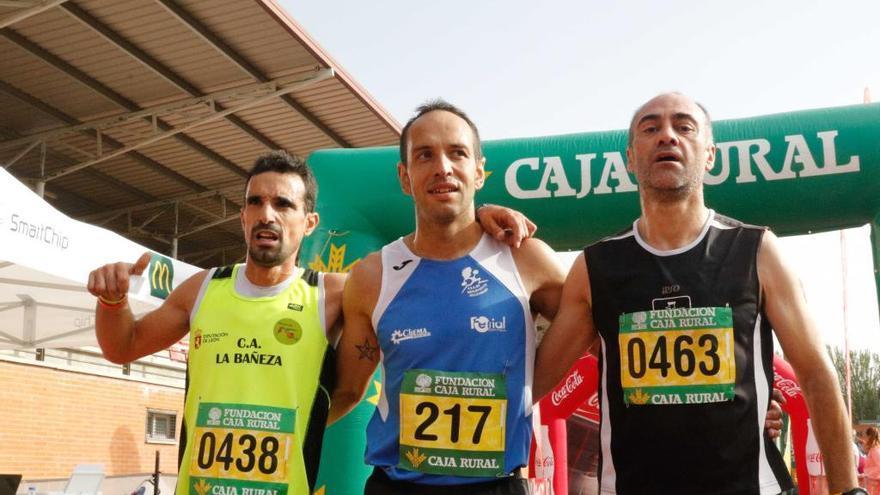 Jorge Rodríguez, Marcos Gómez y Agustín Ruíz.