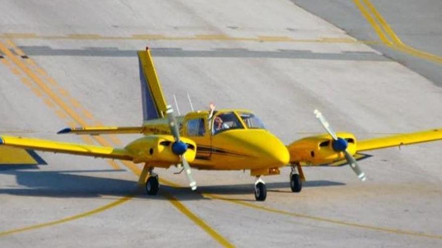 Hallan la avioneta desaparecida en aguas próximas al Delta del Ebro