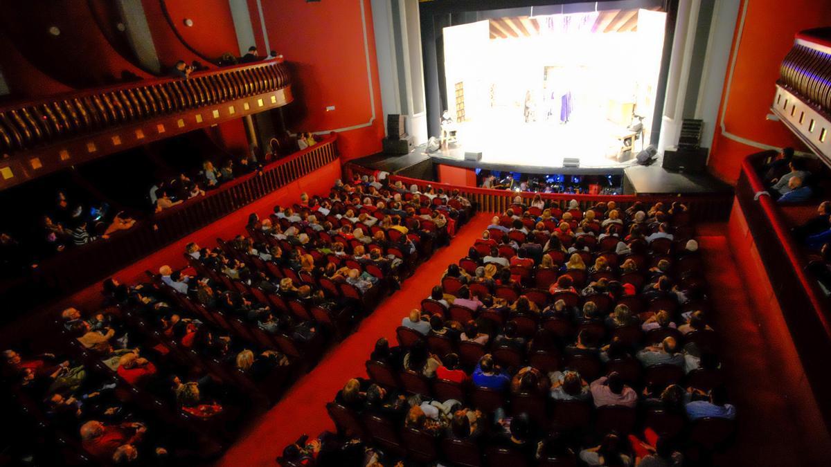 El Teatro Castelar de Elda.