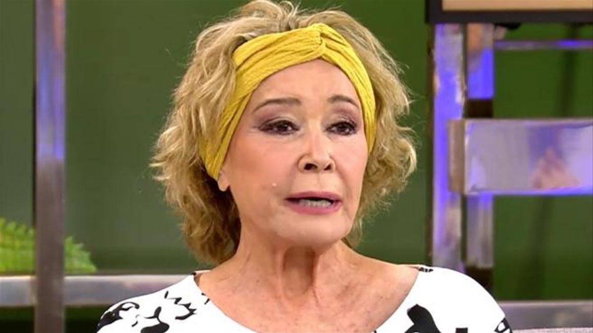 Mila Ximénez en una de sus últimas apariciones en 'Sálvame'.