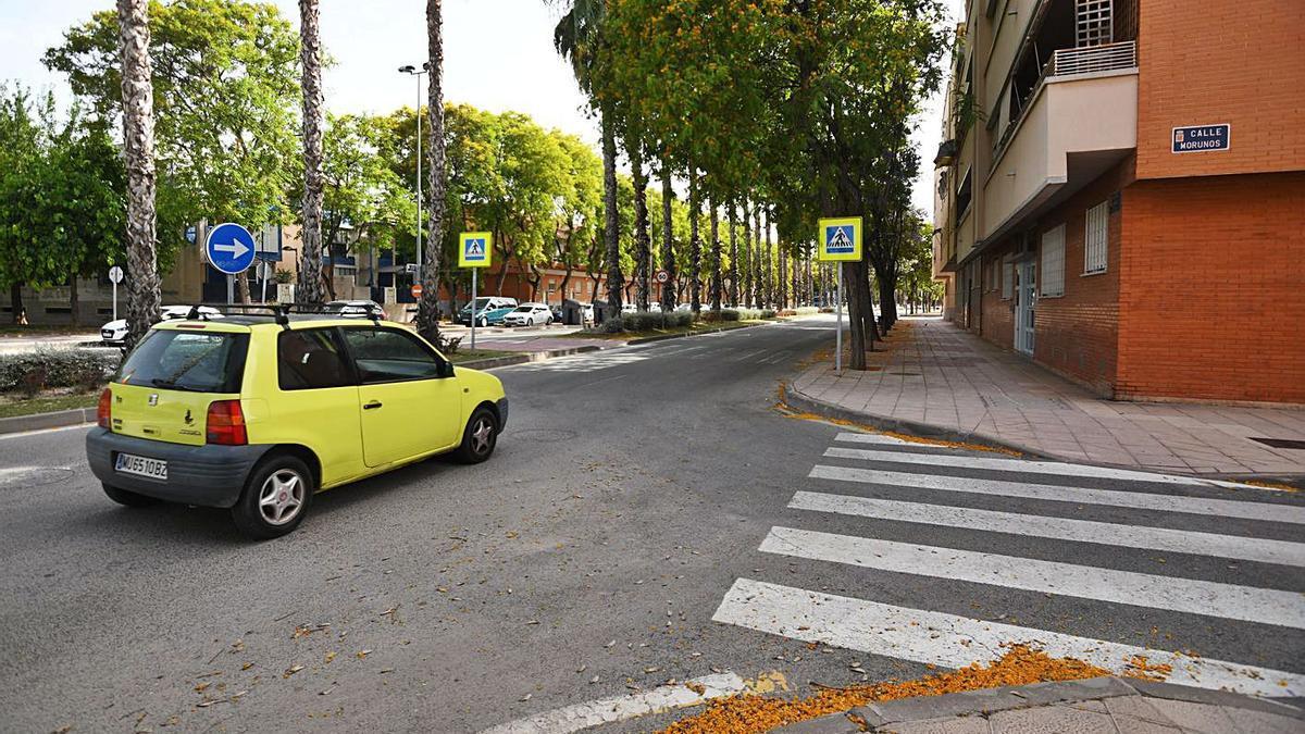 Una de las zonas que arreglarán está en el barrio de La Flota de la capital murciana.