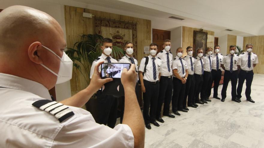 La escuela de aviación Patria prevé ampliar sus instalaciones y duplicar el número de pilotos en formación
