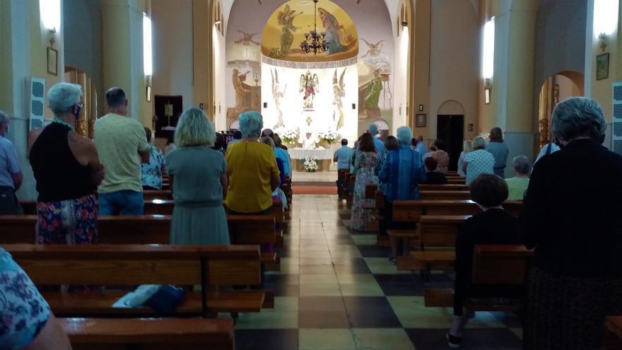La parroquia de San Gabriel de Alicante estrena fachada recién rehabilitada