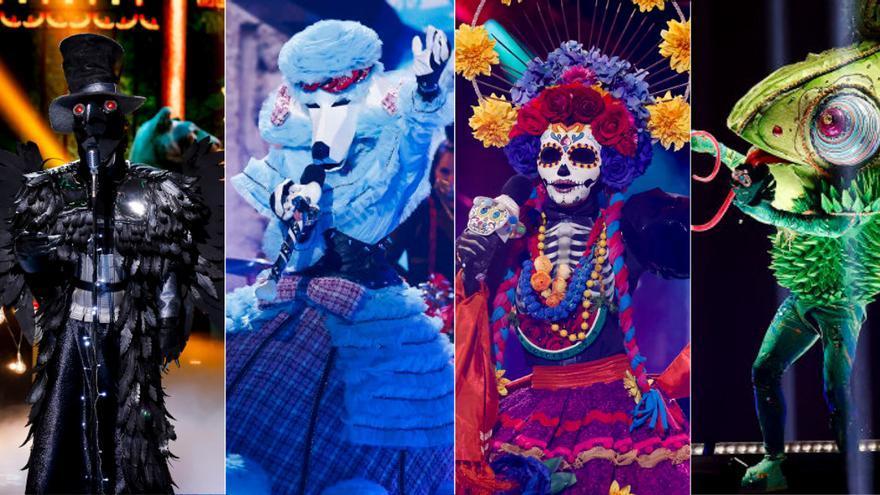 Filtran la identidad de los cuatro famosos finalistas de 'Mask Singer'