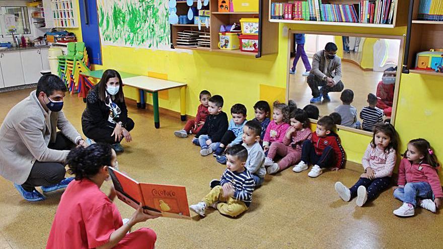 Las 26 escuelas infantiles de Ourense contarán este curso con 1.207 plazas, 41 más