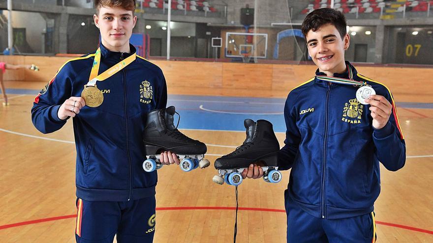 Lucas e Unai, combinación ganadora