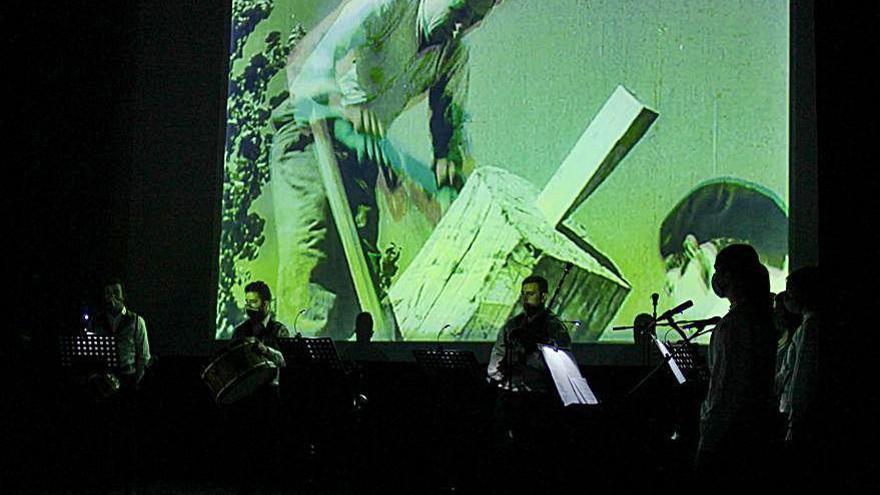 """El CIC Vía XIV pone banda sonora a """"O carro e o home"""""""