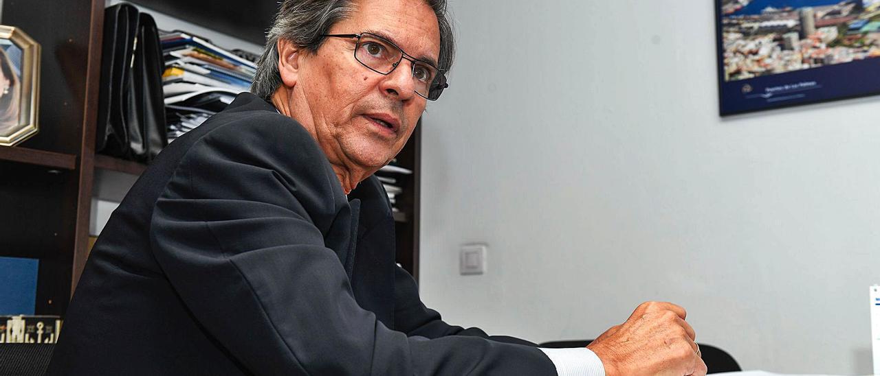 El ex gerente de la Fundación Puertos de Las Palmas, Sergio Galván. | | ANDRÉS CRUZ
