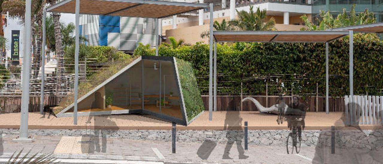 La oficina de turismo del muelle de Santa Catalina será una caracola