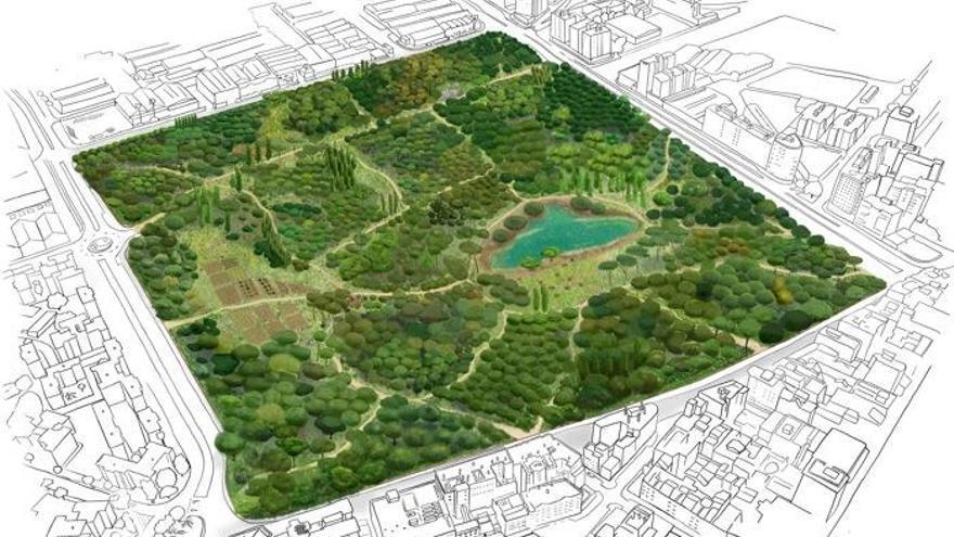 Proponen incluir el bosque urbano de Repsol en la candidatura de Expo 2027
