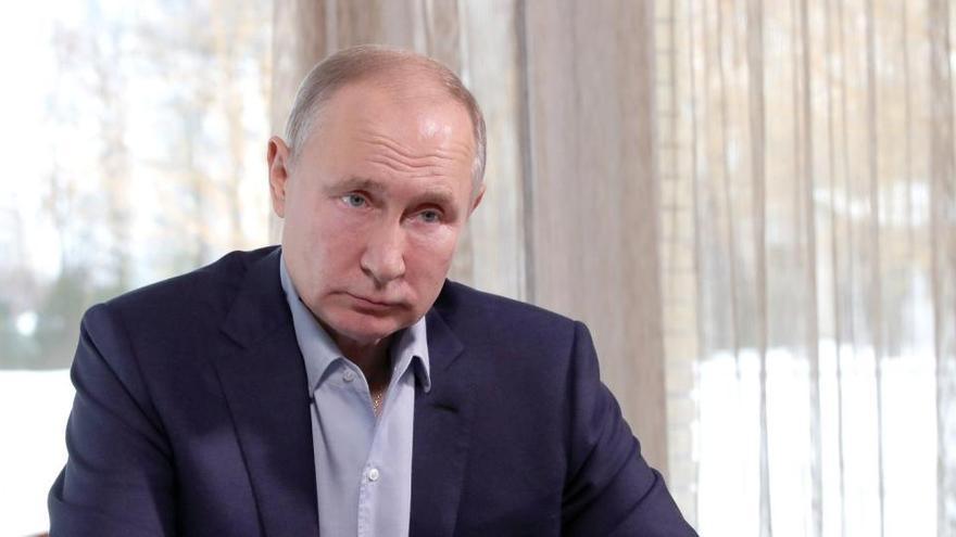 Putin ordena iniciar el diálogo con EEUU para prorrogar el tratado de desarme nuclear
