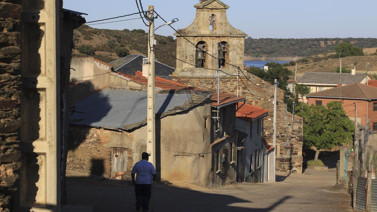 Manzanal del Barco (Zamora), uno de los territorios de la Zamora Vaciada.