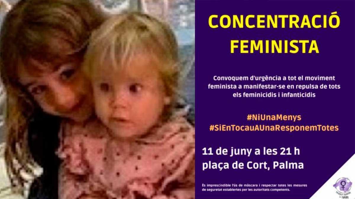 Convocan una concentración en Palma en repulsa por los feminicidios y la violencia vicaria