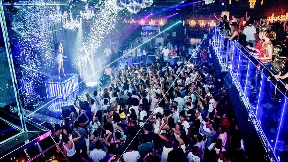 Imagen de archivo del interior de la discoteca Tito's. | DM
