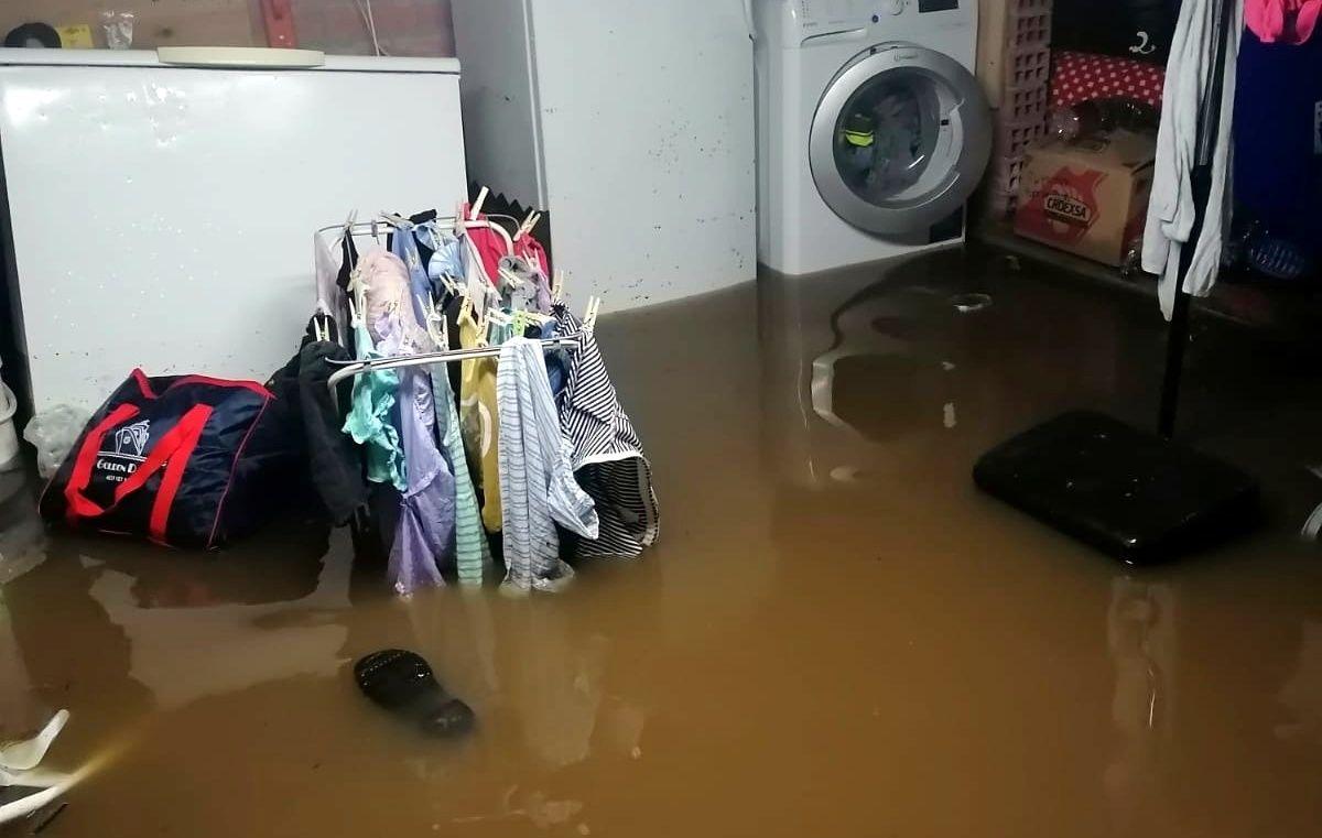 Daños ocasionados por el temporal en Parres