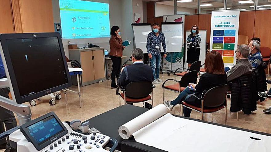L'atenció primària de l'ICS Catalunya Central estén l'especialitat en ecografia