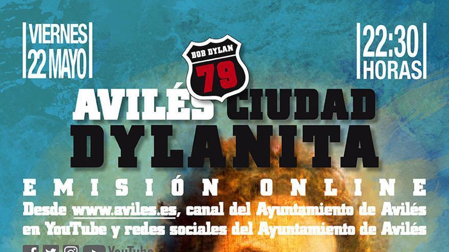El Festival Avilés Ciudad Dylanita se celebrará online el viernes con una docena de grupos y artistas