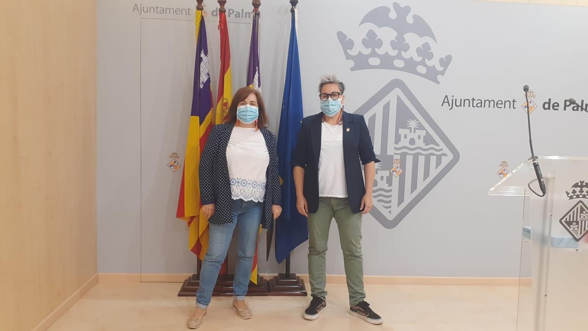 Joana Maria Adillón y Sonia Vivas han presentado el nuevo protocolo.