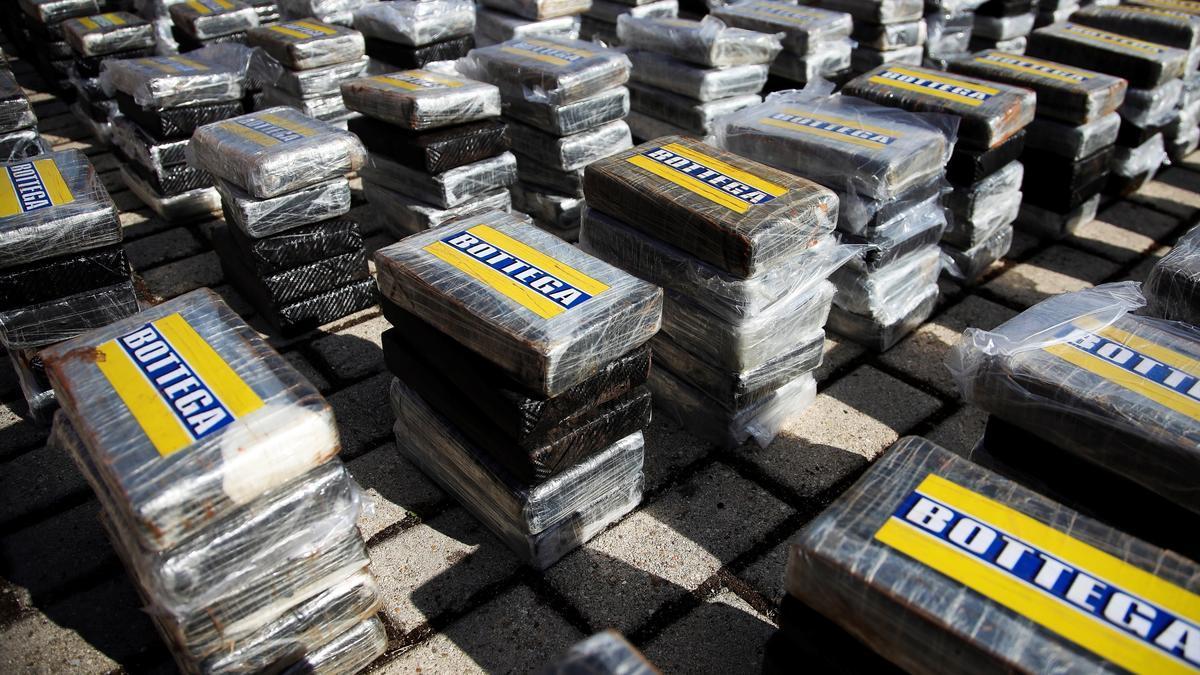 Keine Kekspakete, sondern Drogen: das von der Polizei beschlagnahmte Kokain.