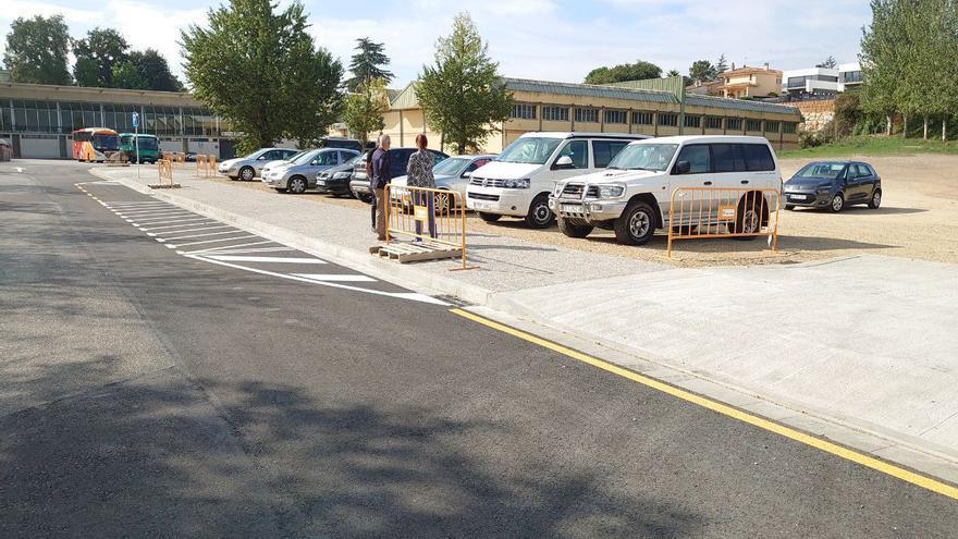 L'Ajuntament de Girona adequa l'accés al Complex Esportiu de Palau