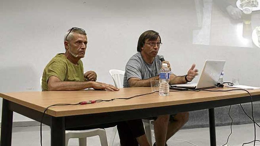 Xisco Gracia repasa su trayectoria y el angustioso rescate de sa Piqueta