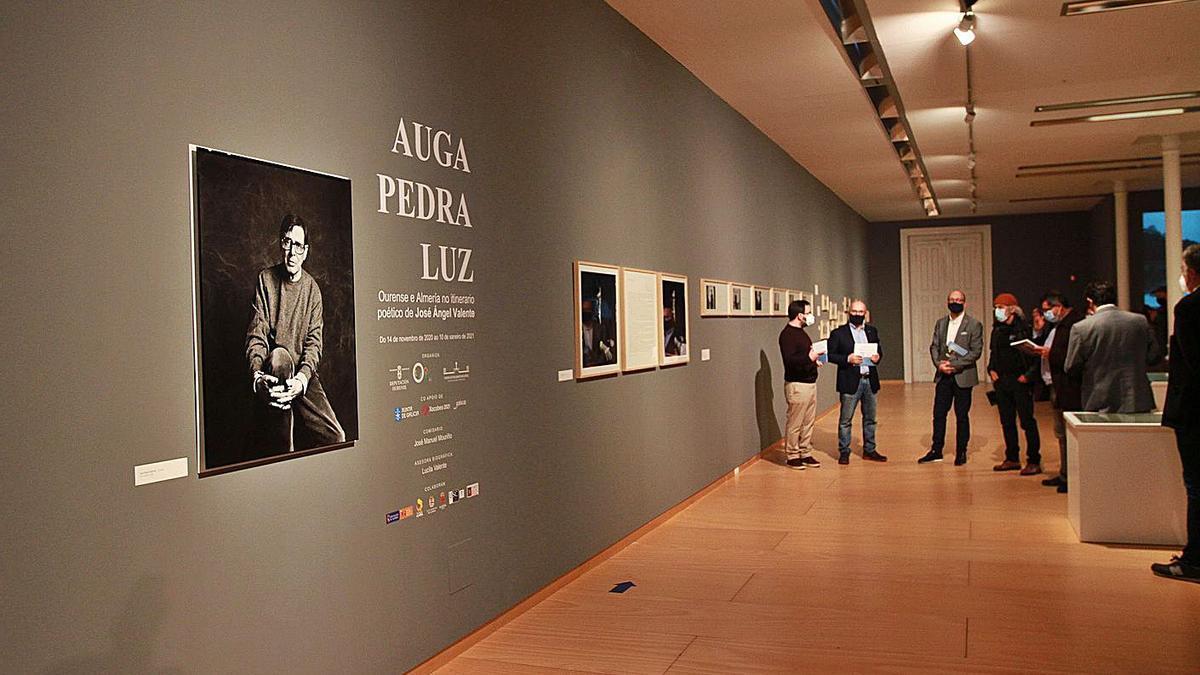 Retrato de Valente en la exposición del Centro Marcos Valcárcel | . // IÑAKI OSORIO