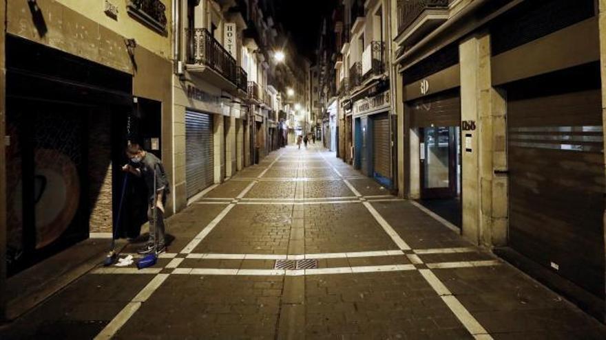 Navarra se convierte en la primera comunidad en confinar todo su territorio