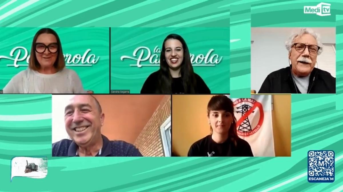 El diputado nacional de Compromís, Joan Baldoví, y Carla Olucha, de No a la MAT, invitados a 'La Panderola' de este lunes.