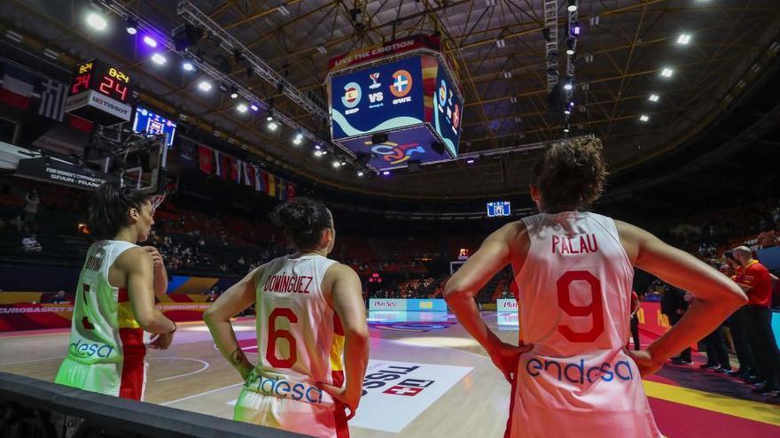 España - Suecia del Eurobasket